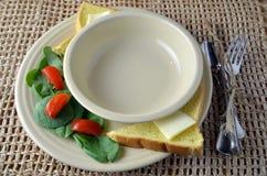 Elija su propia sopa Foto de archivo libre de regalías