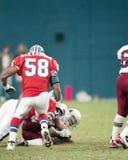 Elijah Alexander Denver Broncos #58 Royaltyfri Fotografi