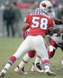 Elijah Alexander Denver Broncos #58 Royaltyfria Foton
