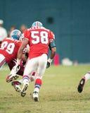 Elijah Alexander Denver Broncos #58 Arkivfoto
