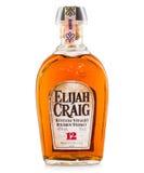 Elijah craig amerikansk bourbonwhisky royaltyfri foto