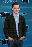 Elijah Wood arriva al Disney XD   Fotografie Stock Libere da Diritti