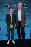 Elijah Wood, Bruce Boxleitner à Disney XD   Photo stock