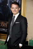 Elijah Wood. At the Los Angeles premiere of 'The Hobbit: The Battle Of The Five Armies' held at the Dolby Theatre in Hollywood on December 9, 2014 Royalty Free Stock Image