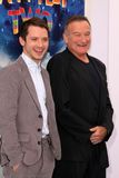 Elijah Wood, Robin Williams Stockbild