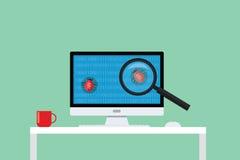 Eliminação de erros dos erros da busca e do achado Imagem de Stock Royalty Free