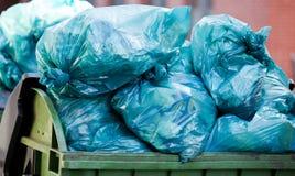 Eliminação de resíduos Imagens de Stock Royalty Free