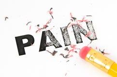 Eliminación de dolor Fotografía de archivo libre de regalías