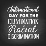 Eliminación de la discriminación racial libre illustration