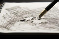 Eliminador de lápis Imagem de Stock Royalty Free