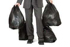 Eliminare i rifiuti Fotografie Stock