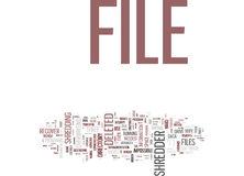 Eliminate Unnecessary Files Forever Use File Shredder Word Cloud Concept. Eliminate Unnecessary Files Forever Use File Shredder Text Background Word Cloud Royalty Free Stock Photography