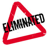 Eliminated rubber stamp Stock Photography