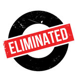 Eliminated rubber stamp Stock Image