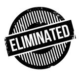 Eliminated rubber stamp Stock Photo