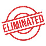 Eliminated rubber stamp Royalty Free Stock Photo