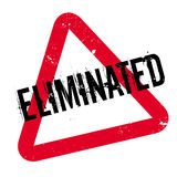 Eliminated rubber stamp Royalty Free Stock Image