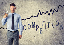 Elimination of competition Royalty Free Stock Photos