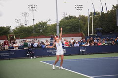 elina otwarty s svitolina tenis u Obraz Royalty Free