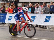 Elinor barker -  british junior rider Royalty Free Stock Photos