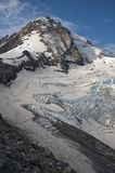Eliot Glacier on Mt. Hood Stock Photo