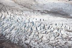 Eliot Glacier on Mt. Hood Royalty Free Stock Images