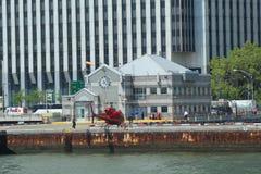 Eliporto del centro di Manhattan a New York Fotografia Stock Libera da Diritti