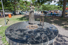 Elis Regina-Statue Lizenzfreies Stockbild
