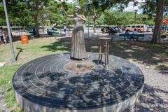 Elis Regina statue Royalty Free Stock Image