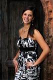 Elisa, portraits in natural light Stock Photos