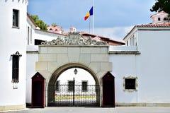 Elisabeta宫殿,罗马尼亚皇家的住所在Buch 免版税库存图片
