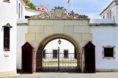 Elisabeta Palace, residence of the romanian royal family in Buch Stock Photography
