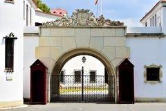 Elisabeta Palace, residencia de la familia real rumana en Buch Fotografía de archivo