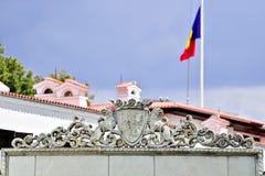 Elisabeta Palace, residenza della famiglia reale rumena in Buch Fotografia Stock Libera da Diritti