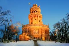 elisabeth взгляда башня вне Стоковые Фото