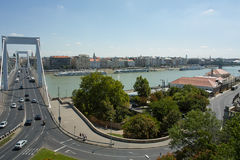 Elisabeth bridge in Budapest Stock Photo
