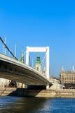 Elisabeth Bridge  of Budapest, Hungary Royalty Free Stock Photography