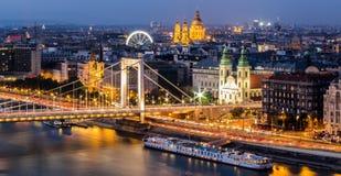 Elisabeth Bridge - Budapest - Hungary Royalty Free Stock Images