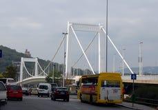 Elisabeth Bridge in Budapest, Hungary Stock Photo