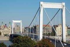 Elisabeth Bridge in Budapest, Hungary Royalty Free Stock Photo