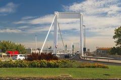 Elisabeth Bridge no rio Danúbio imagem de stock royalty free