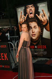 Elisabeth Moss #4. Actress Elisabeth Moss attends the premiere of 'Get Him to the Greek' at the Greek Theater in Los Angeles Royalty Free Stock Image