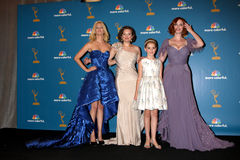 Elisabeth Moss,Kiernan Shipka,January Jones,CHRISTINA HENDRICK,Christina Hendricks Royalty Free Stock Image