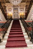 Grand Staircase at the Achilleion Palace on the island of Corfu Greece built by Empress Elizabeth of Austria Sissi Stock Photography