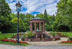 Elisabethenbrunnen in Bad Homburg Stock Photo
