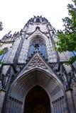 Elisabethenkirche (l'église d'Elizabeth) à Bâle Photos libres de droits