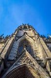 Elisabethenkirche - St Elisabeth Church in Bazel, Zwitserland stock fotografie