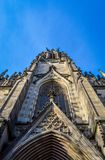 Elisabethenkirche - St Elisabeth Church i Basel, Schweiz arkivbild