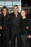 Elisabetta Canalis,George Clooney Royalty Free Stock Images