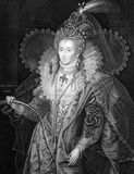 Elisabetta I d'Inghilterra Immagini Stock Libere da Diritti